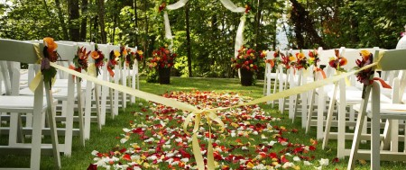 Fall Wedding Scenery