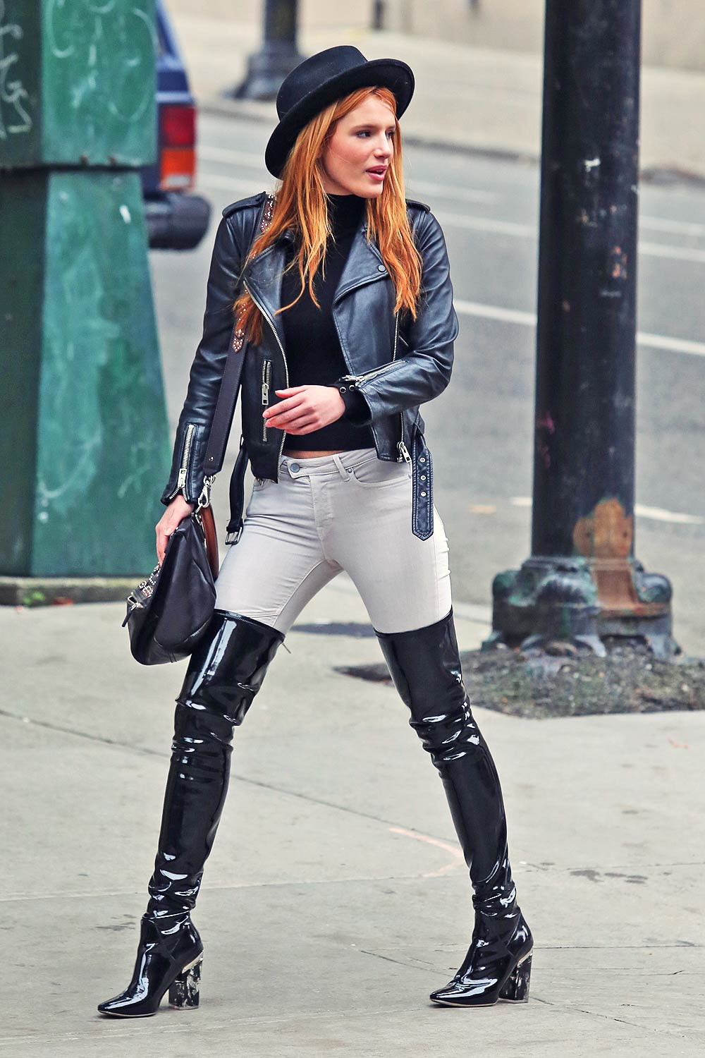 Bella Thorne in J Brand