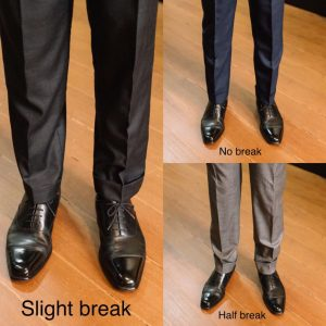 Full break vs half break: all you need to know about hemming pants