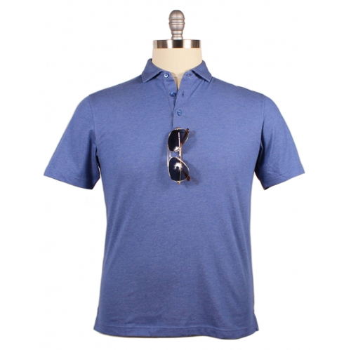 Our Performance Cotton Polo is great for playing active sports and includes a loop on the base of the placket to hold sunglasses, as shown here.