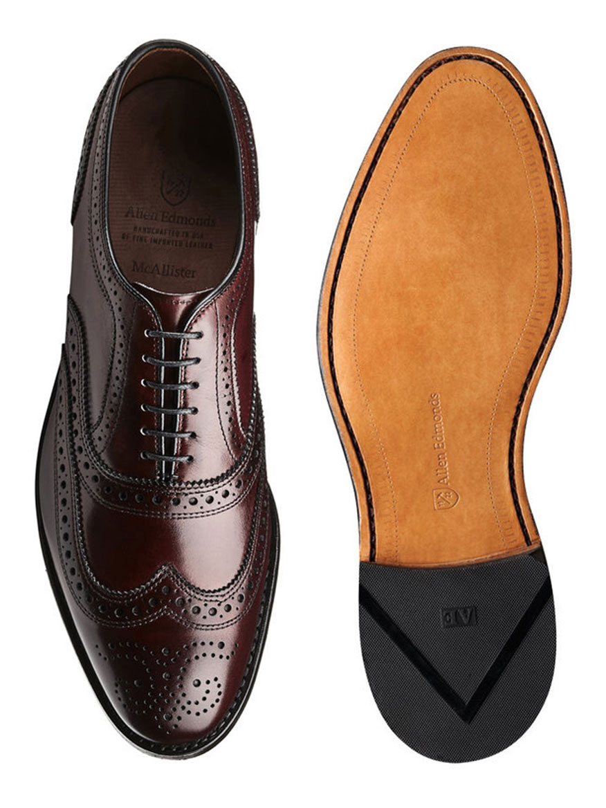 hot sale online a8acb e2a79 Allen Edmonds McAllister in Oxblood | Larrimor's