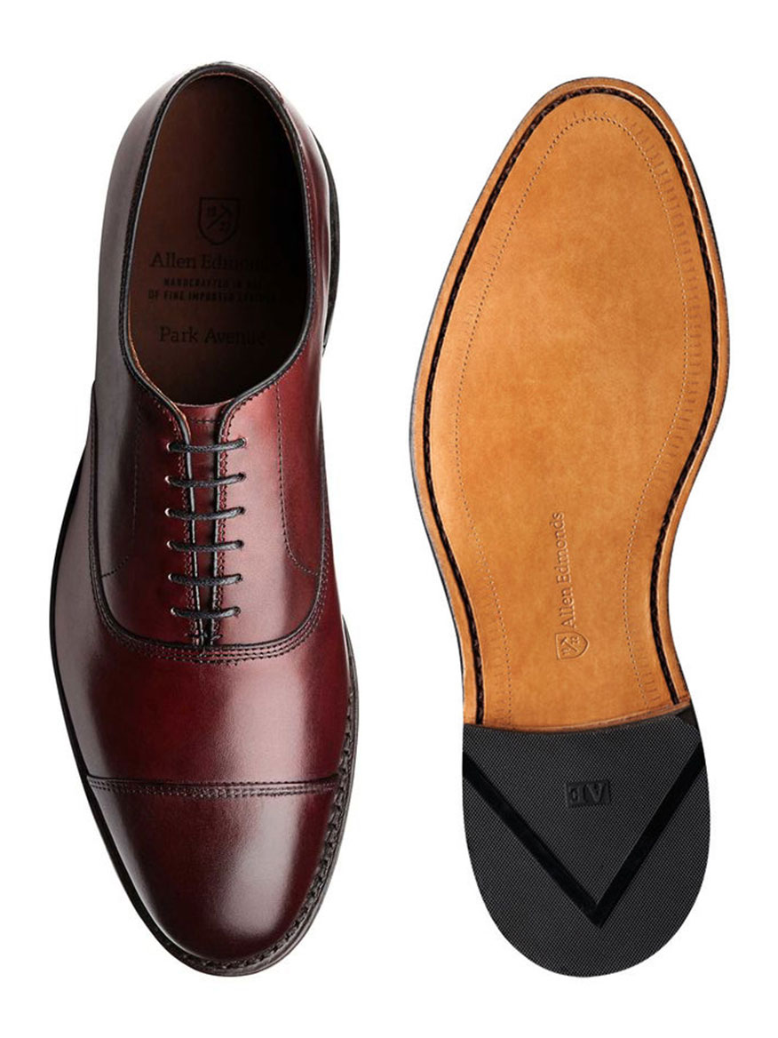 506c1e7c0 Allen Edmonds Park Avenue in Oxblood | Larrimor's