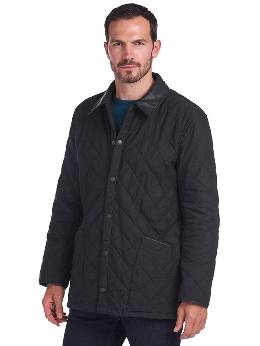 Buy Liddesdale Quilted Jacket Black Jackets Larrimors.com