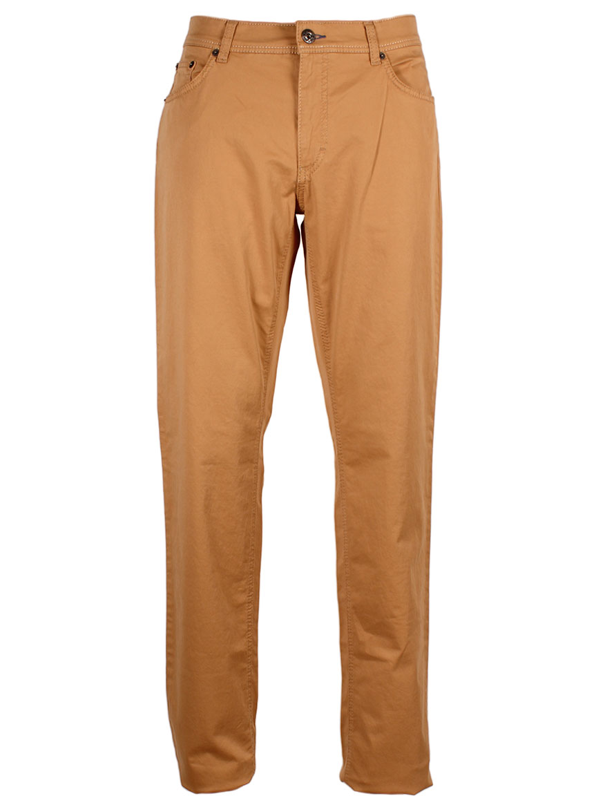 Brax Cooper Fancy Marathon 2.0 Flex Trousers in Honey