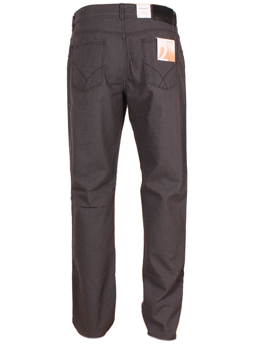 Brax Cooper Fancy Two-Tone Trousers in Street