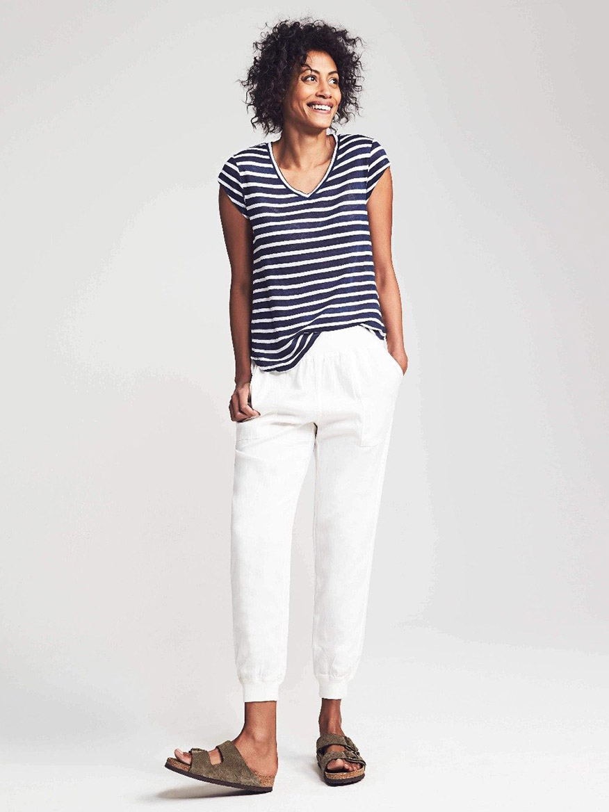 Buy Buy Arlie Day Pant White Pants Larrimors.com