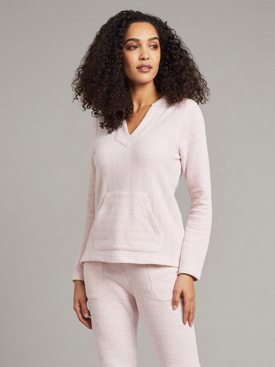 Buy Whitewater Hoodie Pink Tops Larrimors.com