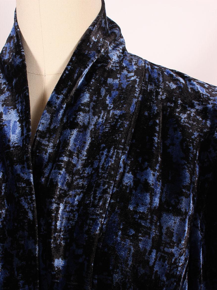 7ccd6a666ca80 ... Eileen Fisher Shawl Collar Velvet Jacket ...