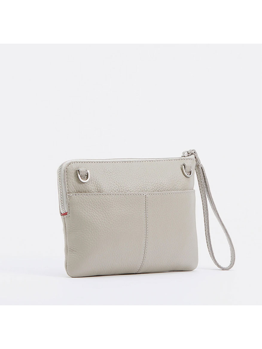 Hammitt Los Angeles Nash 2 Small Clutch in Cozy Grey