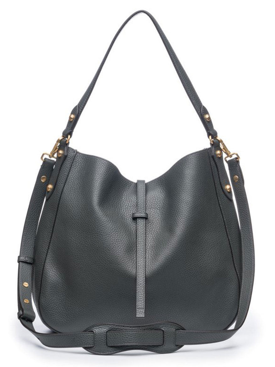 Annabel Ingall Brooke Hobo in Charcoal