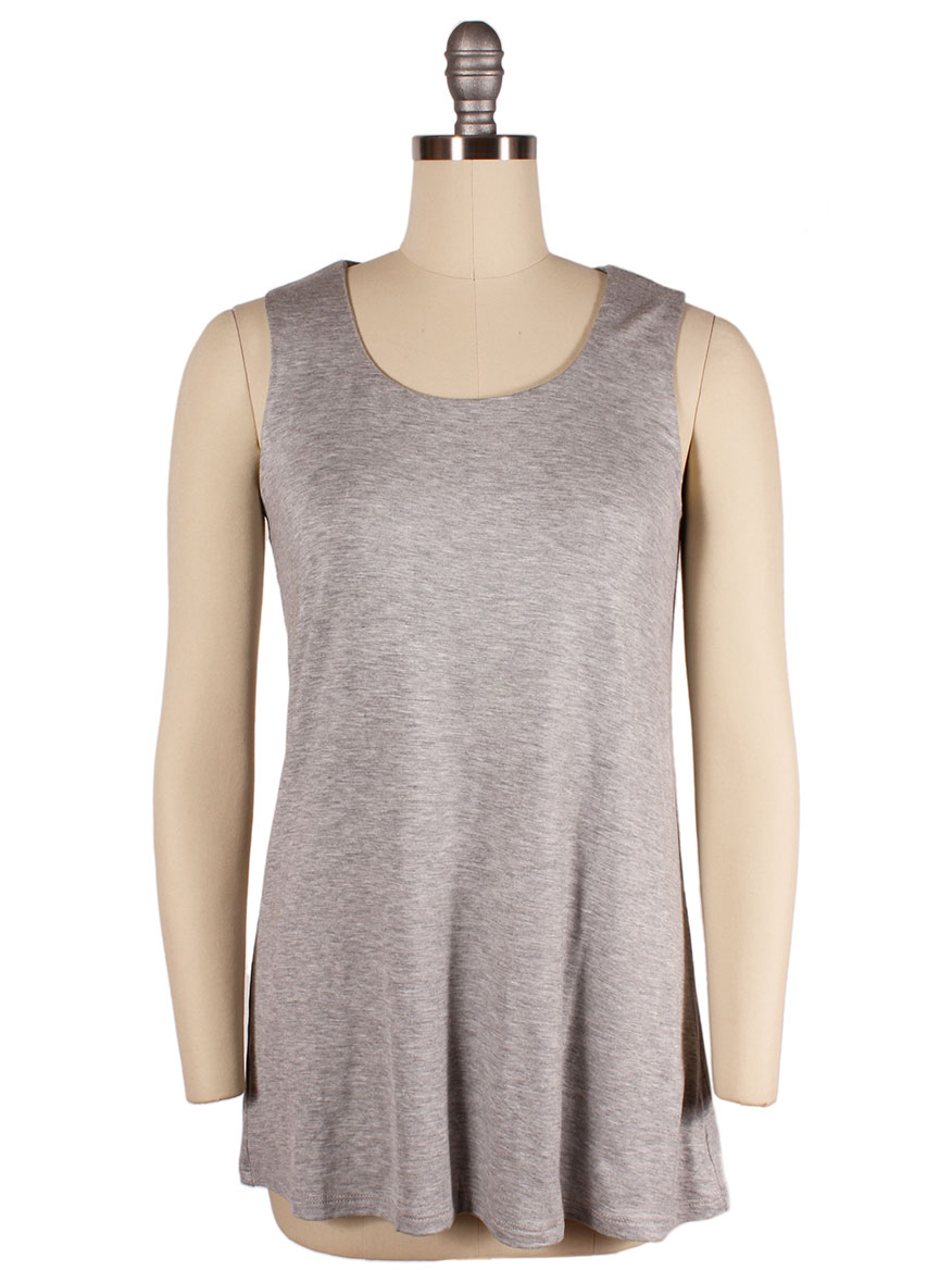 Kinross Double Layer Tank in Sterling