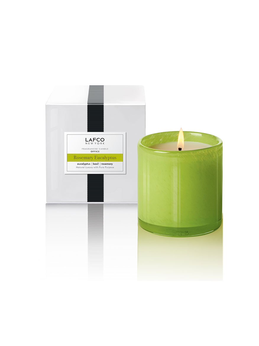 LAFCO Rosemary Eucalyptus Office Signature Candle 15.5oz