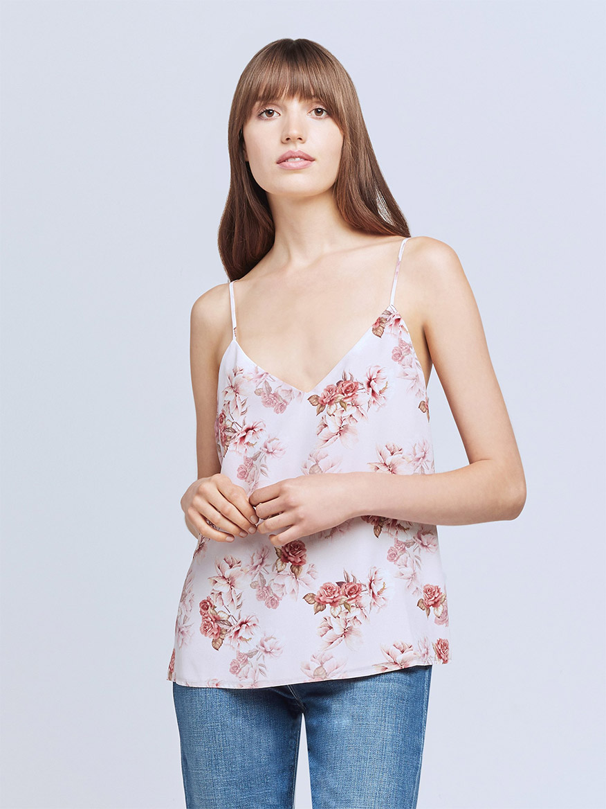 Buy Jane Camisole Tank Blush Rose Tops Larrimors.com