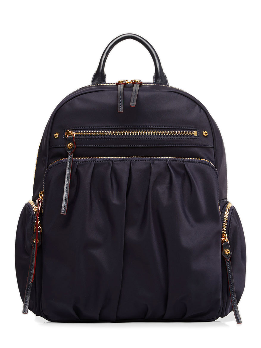 MZ Wallace Belle Backpack in Dawn Bedford with Gold Hardware