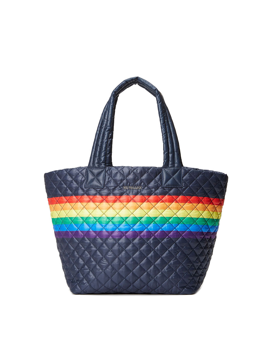Buy Medium Metro Tote Deluxe Dawn Rainbow Handbags Larrimors.com