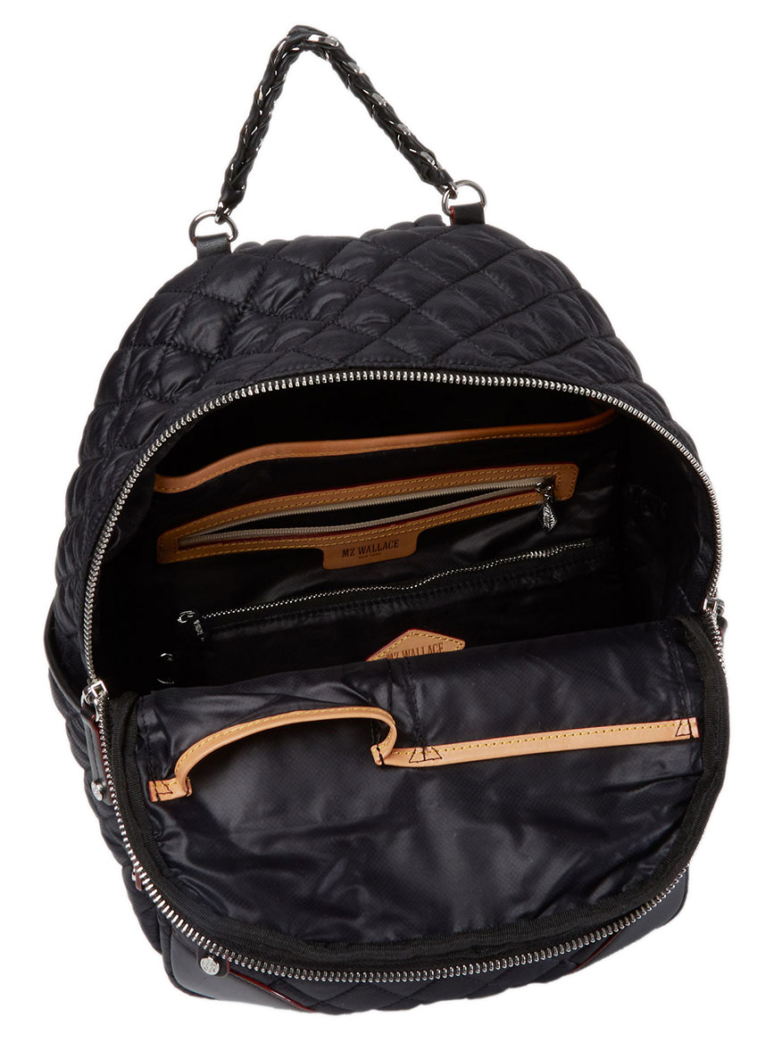 23cf6dc00782 MZ Wallace Small Crosby Backpack in Black Oxford | Larrimor's