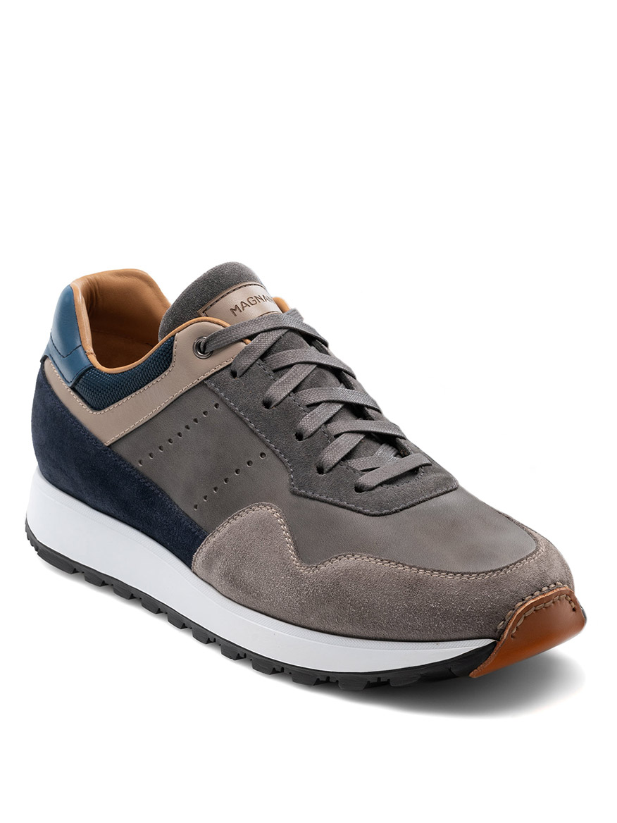 Buy Varenna Grey Navy Shoes Larrimors.com