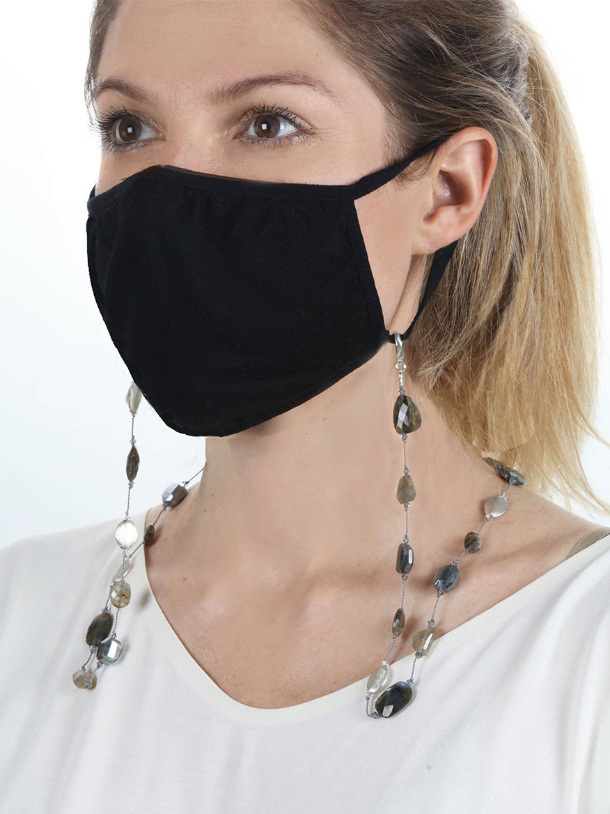 Buy Labradorite Combo Mask Chain Jewelry Larrimors.com