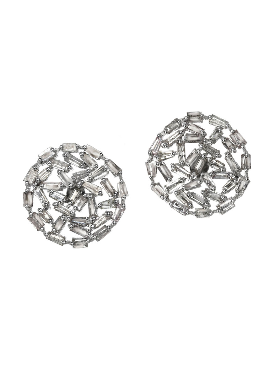 Buy Diamond Baguette Earrings Jewelry Larrimors.com