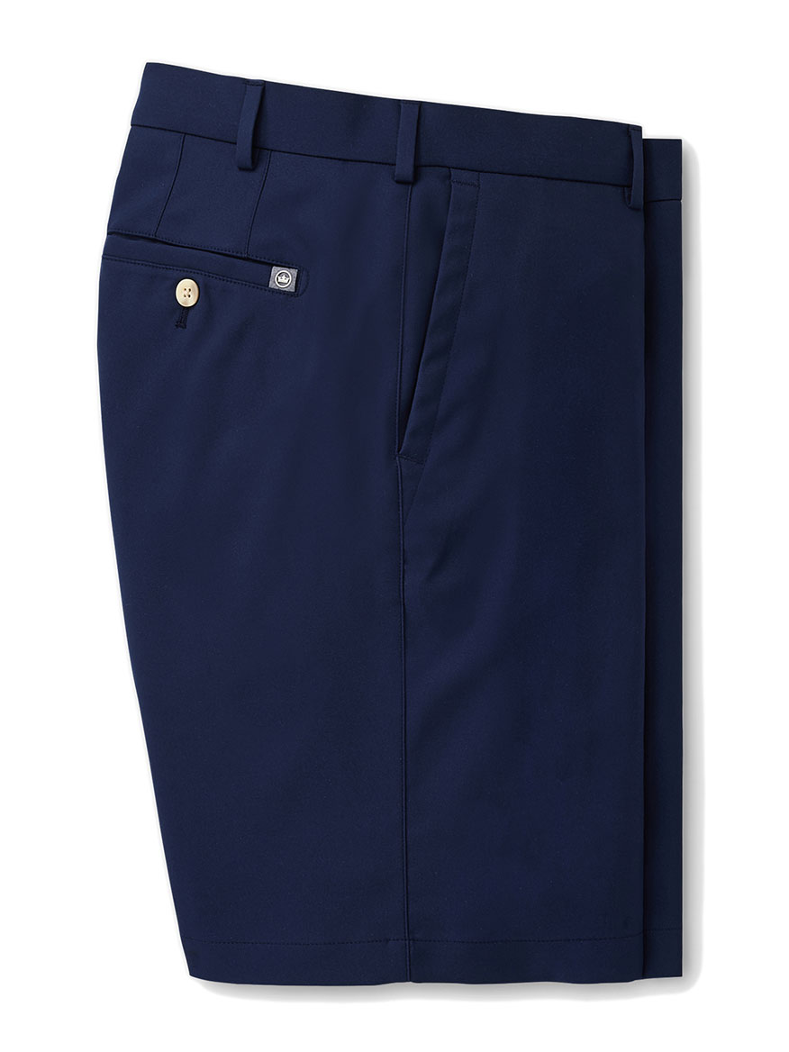 Peter Millar Salem High Drape Performance Short in Navy
