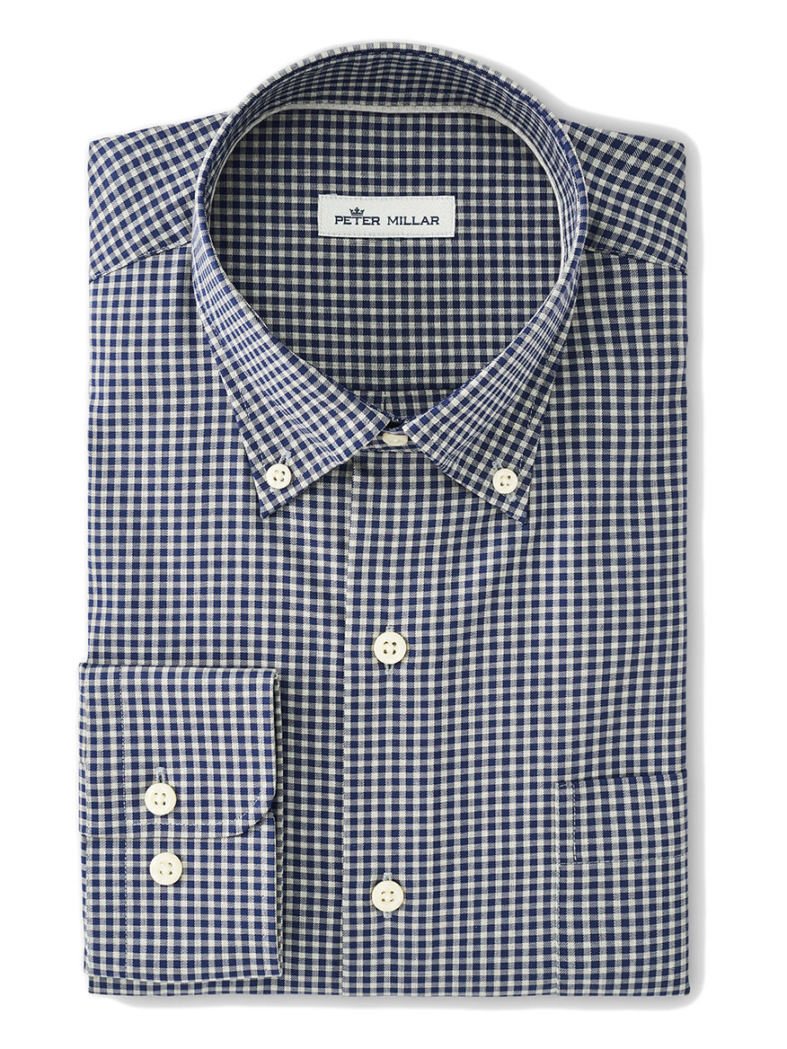 Buy Crown Ease Alexander Navy Sport Shirts Larrimors.com