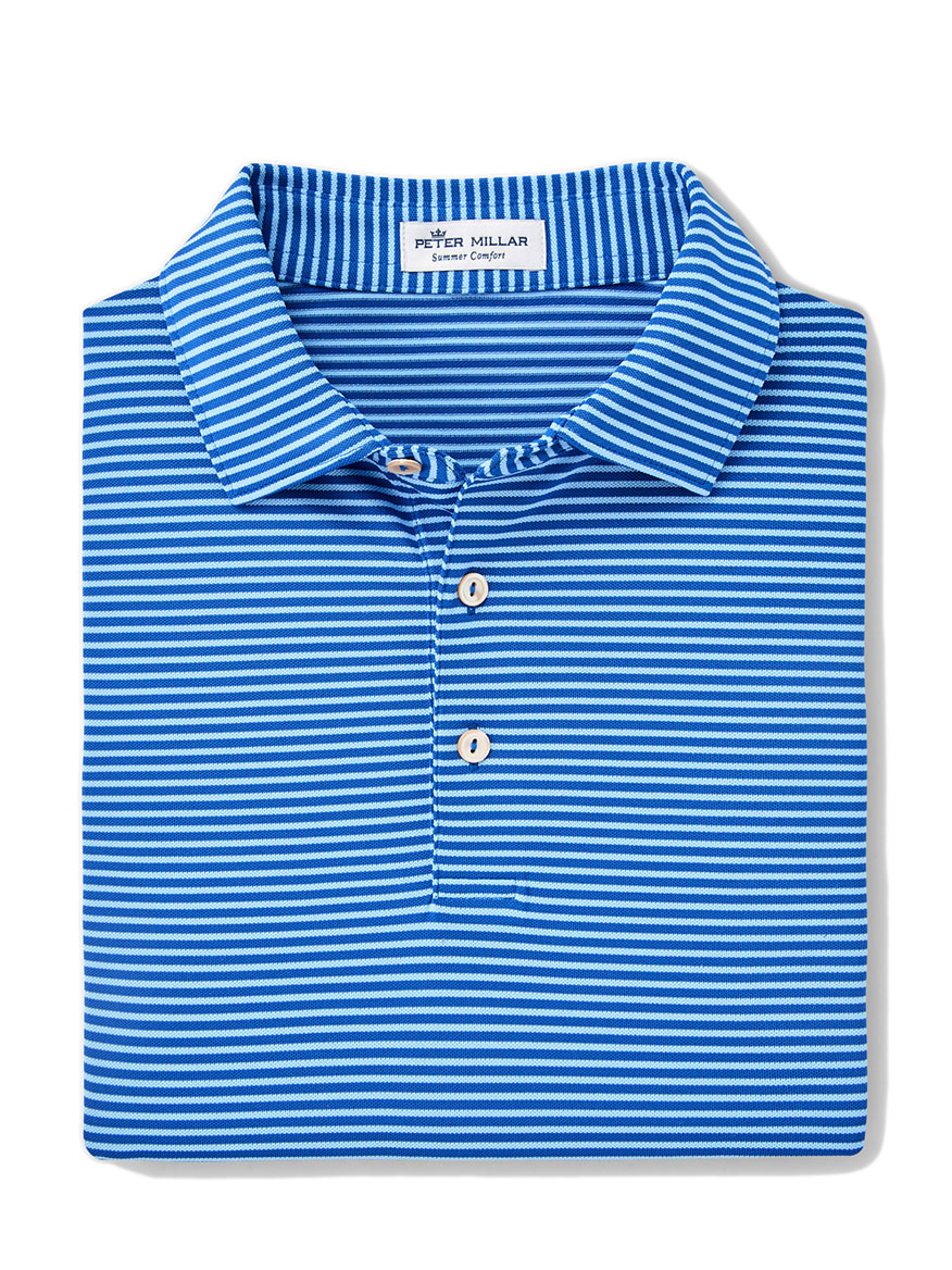 Peter Millar Grace Performance Polo in Blue Lapis