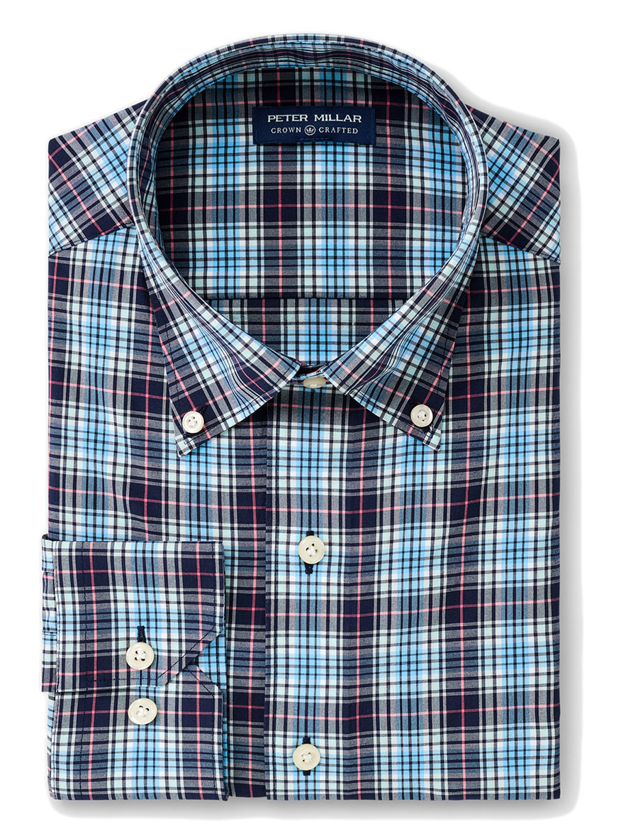 Peter Millar Adderley Natural Touch Sport Shirt