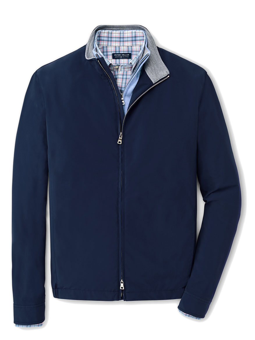 Peter Millar Stealth Performance Jacket in Navy