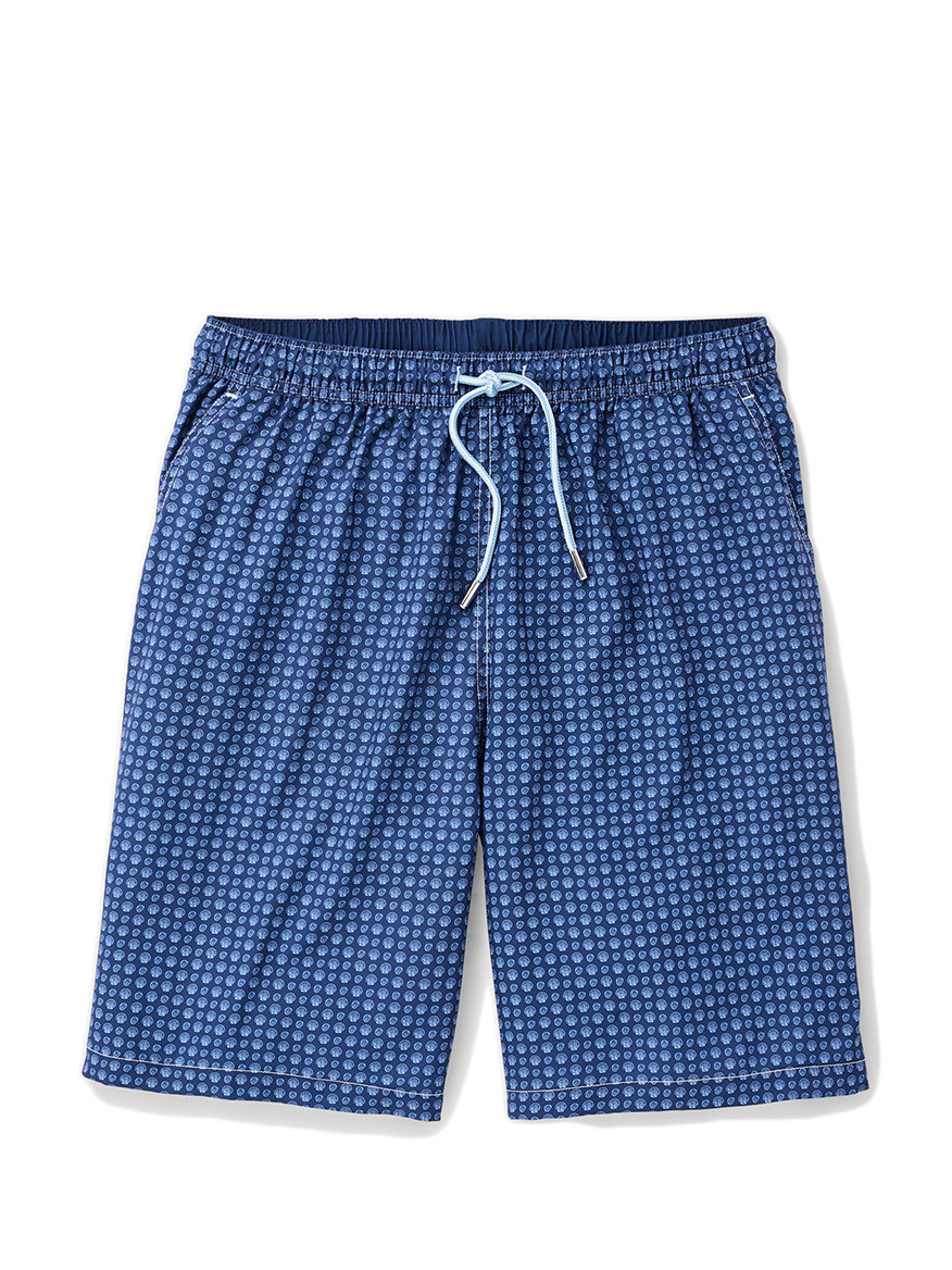 Peter Millar Shellignment Swim Trunk in Atlantic Blue
