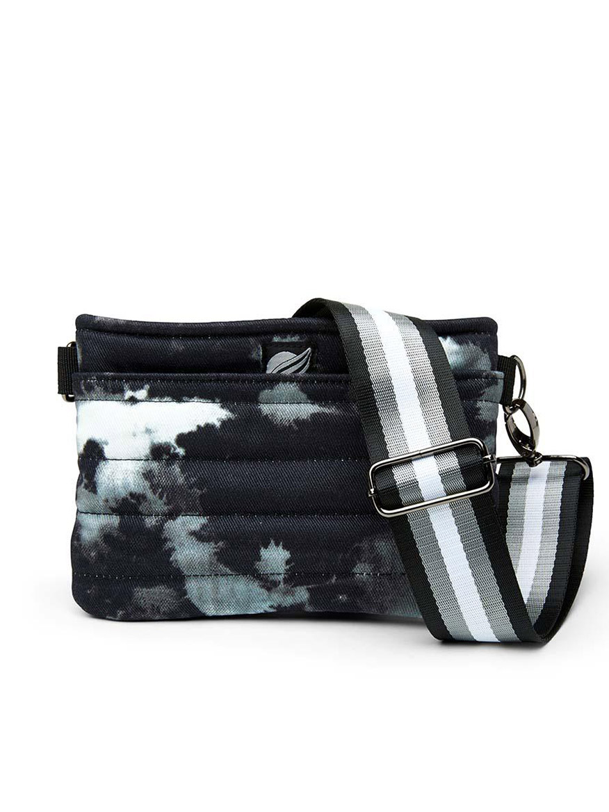 Buy Bum Bag Black Tie Dye Handbags Larrimors.com