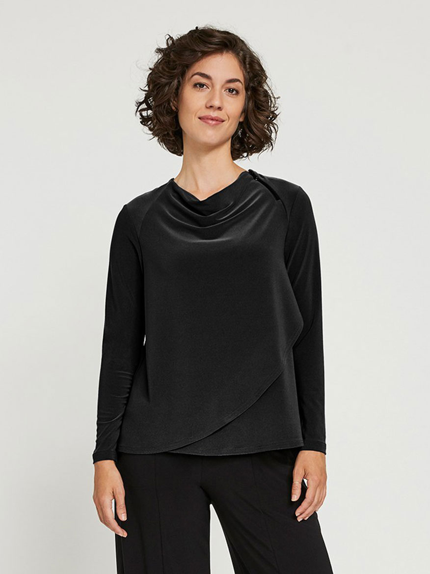 Buy Zest Rapt T Black Tops Larrimors.com