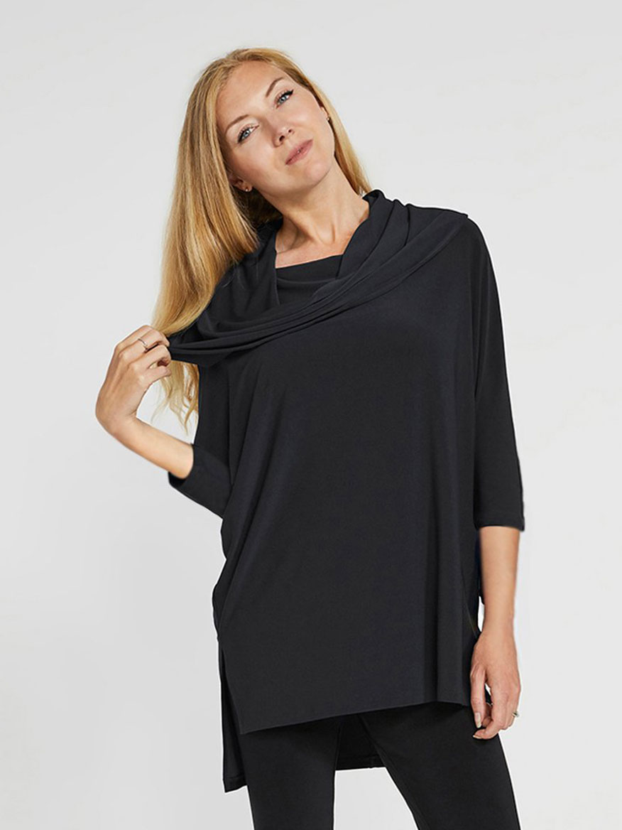 Buy Wander Tunic Black Tops Larrimors.com