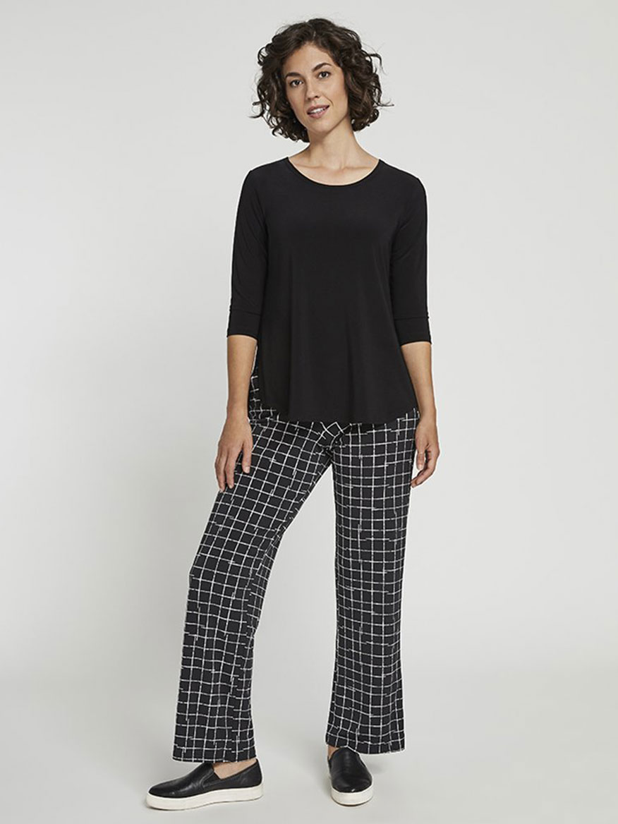 Buy Straight Leg Pant Crosshatch Small Pants Larrimors.com