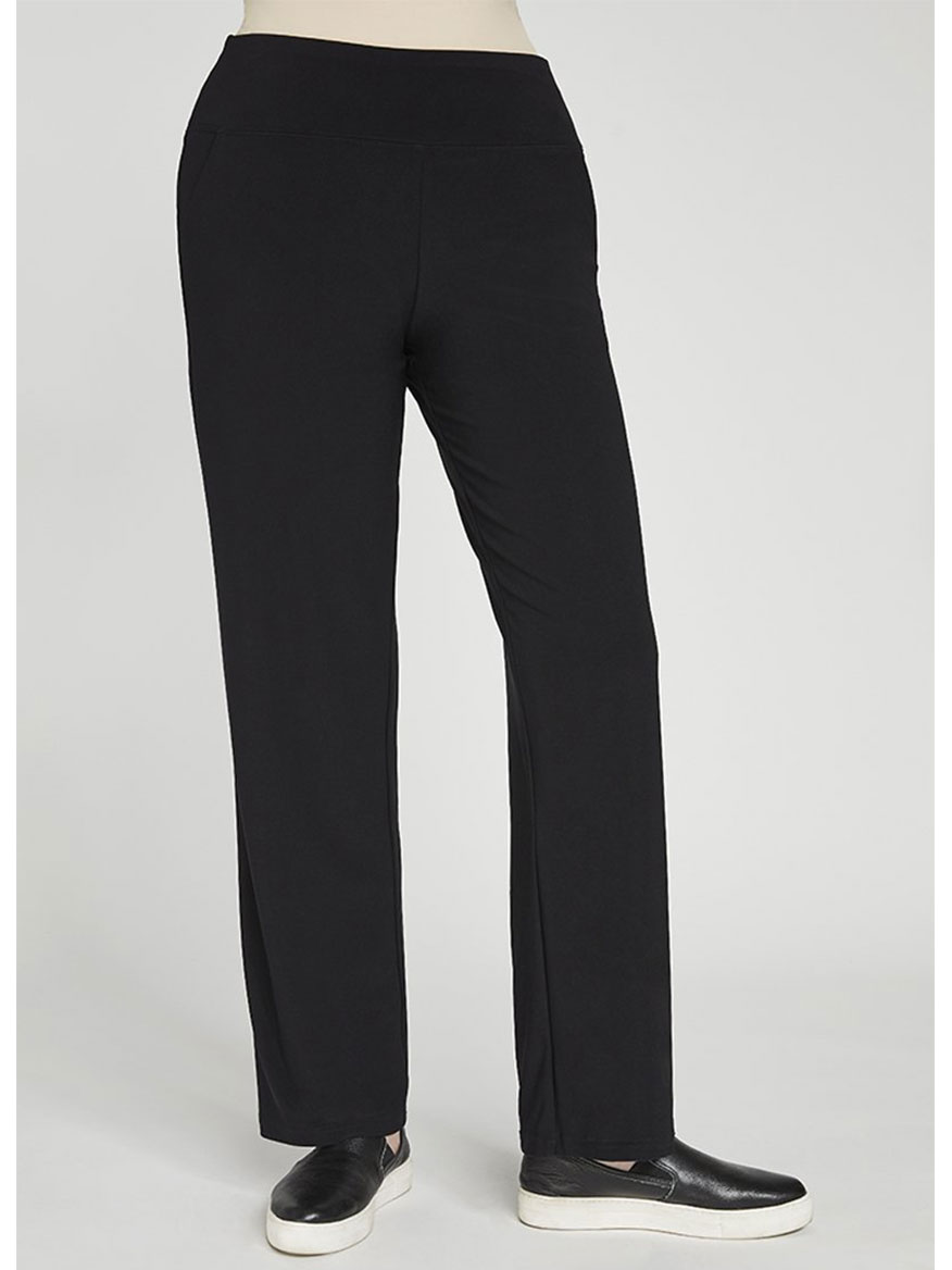 Buy Straight Leg Pant Black Pants Larrimors.com