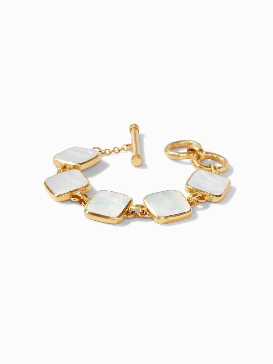 Julie Vos Catalina Bracelet in Mother of Pearl