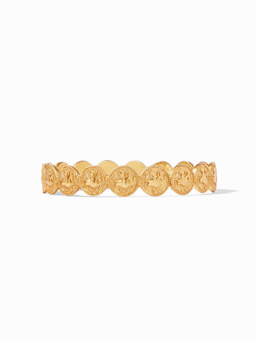 Julie Vos Coin Bangle - Medium