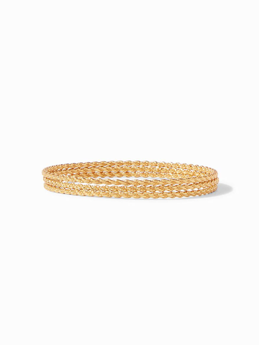 Julie Vos Cascade Trio Bangle - Medium