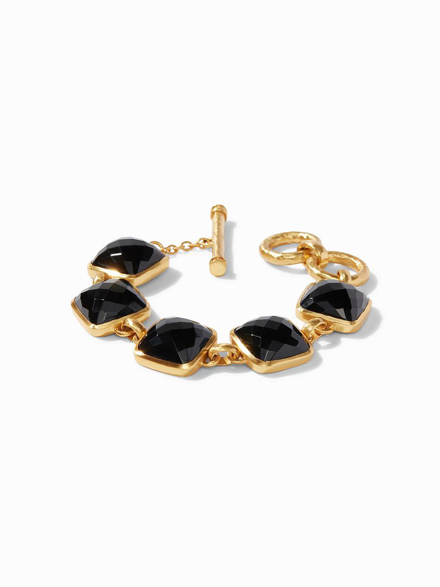 Julie Vos Catalina Bracelet in Obsidian Black