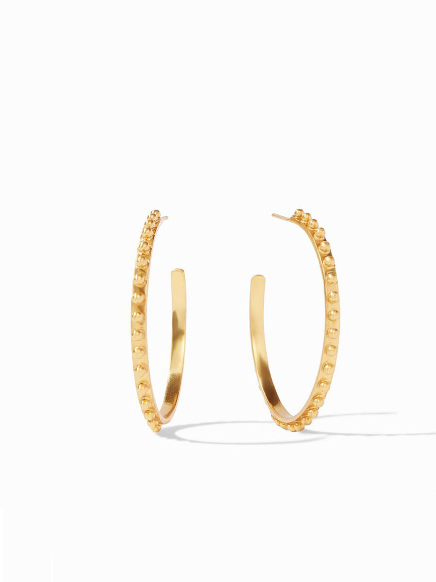 Julie Vos Soho Hoop Earring in Gold - Large