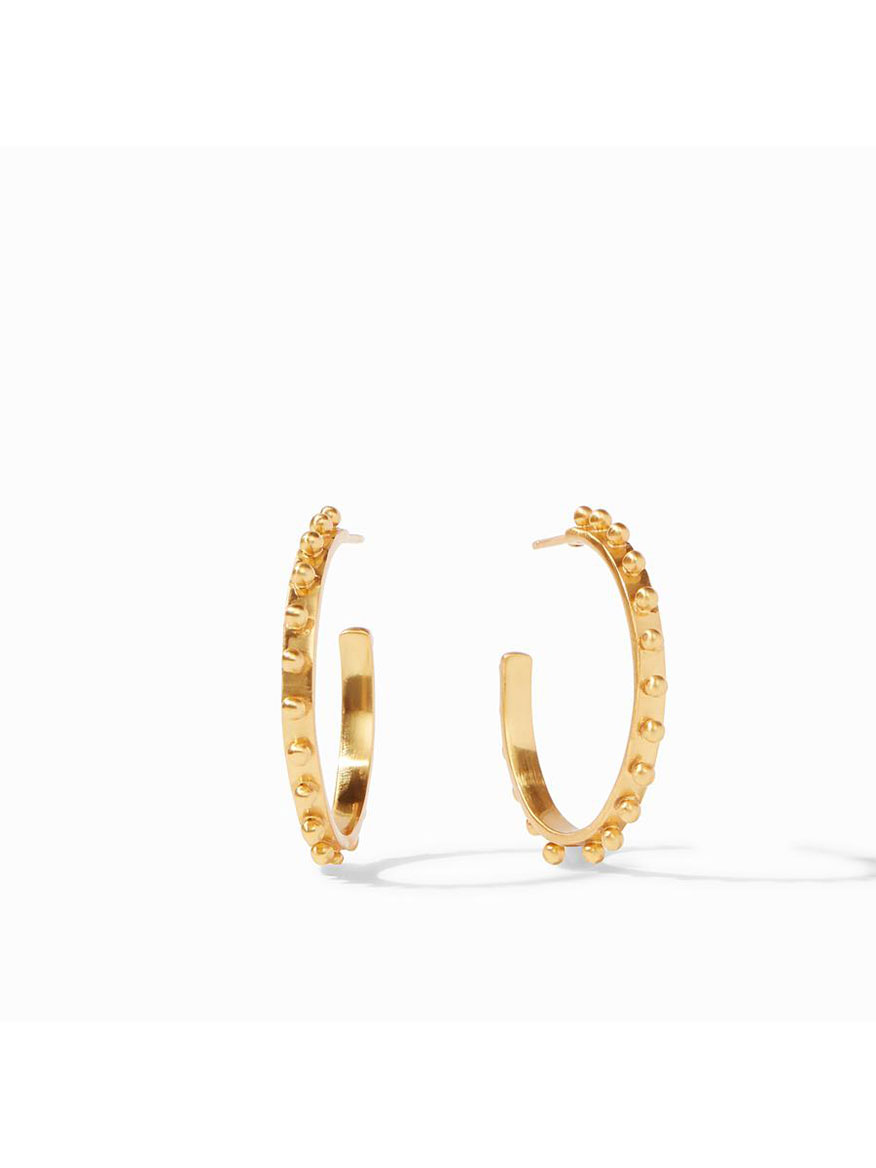 Buy Soho Hoop Earring Medium Gold Jewelry Larrimors.com