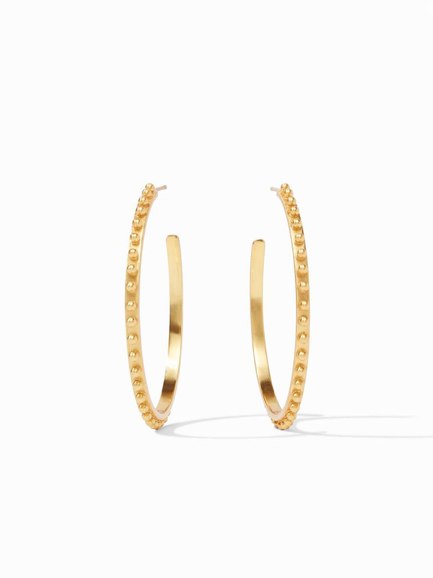Buy Soho Hoop Earring XL Gold Jewelry Larrimors.com