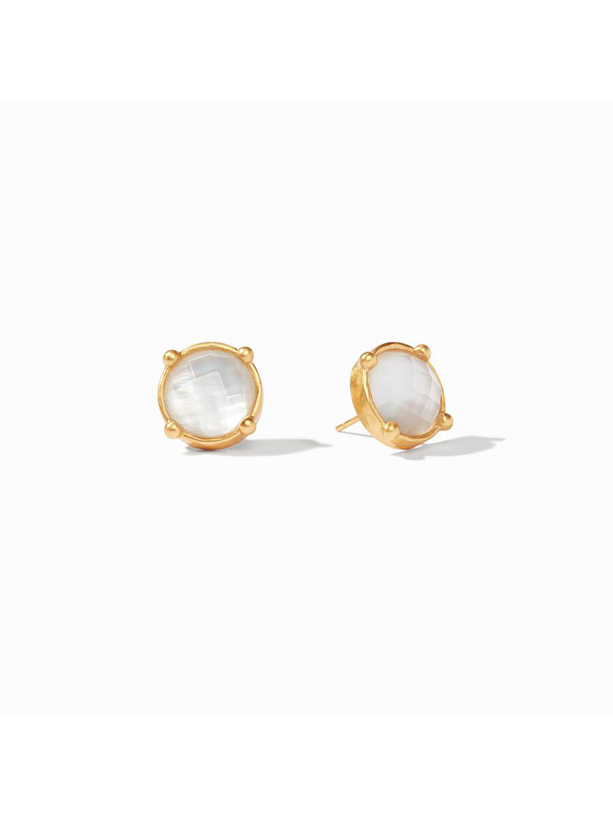 Buy Honey Stud Earring Clear Jewelry Larrimors.com