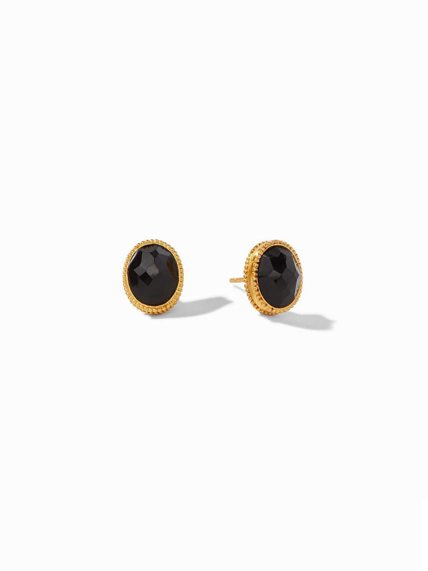 Buy Verona Stud Earring Black Jewelry Larrimors.com
