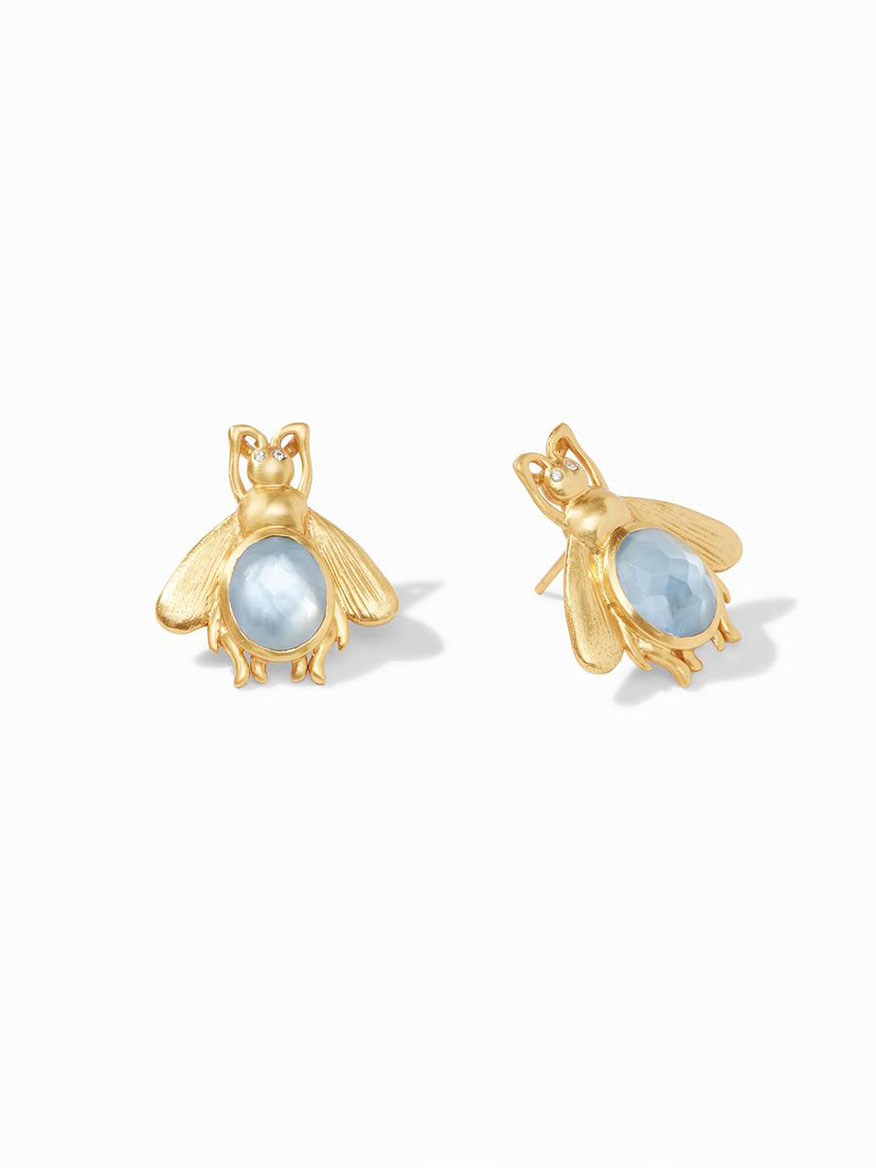 Buy Bee Earring Blue Jewelry Larrimors.com