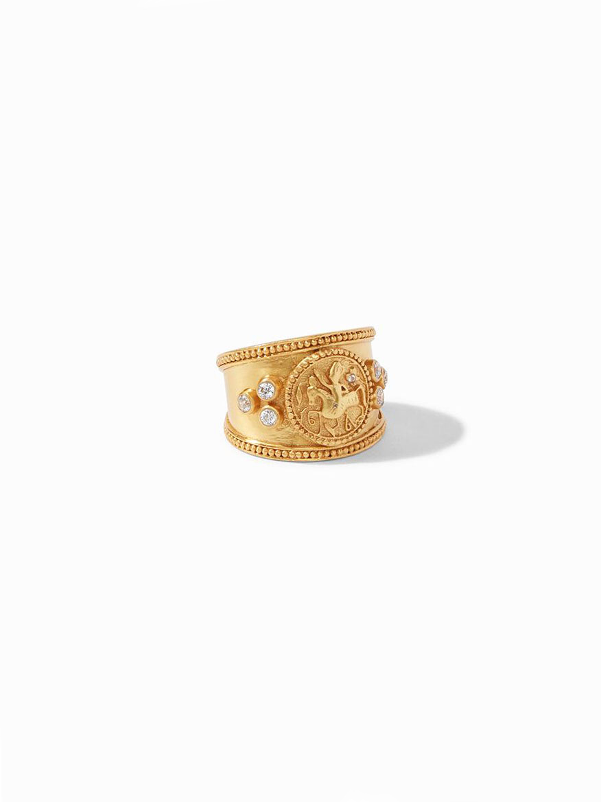 Buy Coin Crest Ring Gold Jewelry Larrimors.com