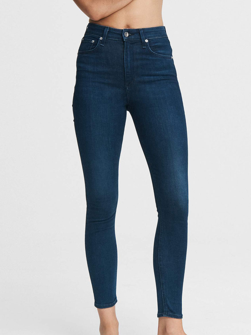 Buy Nina High Rise Skinny Viola Denim Larrimors.com